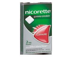 Image of product Nicorette - Nicorette Gum Cinnamon, 2 mg, 30 units