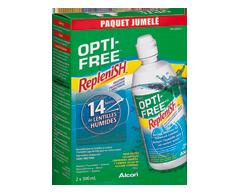 Image of product Opti-Free - Replenish Multi-Purpose Disinfecting Solution, 2 x 300 ml