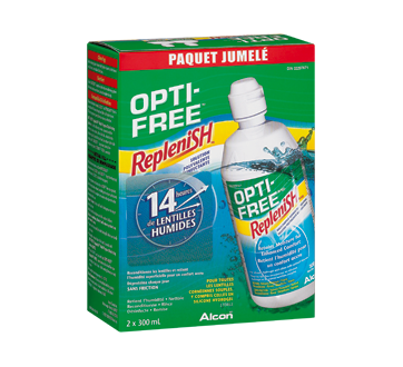 Image of product Opti-Free - Replenish Multi-Purpose Disinfecting Solution, 2 x 300 ml