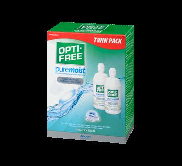 Image 1 of product Opti-Free - PureMoist Multi-Purpose Disinfecting Solution, 2 x 300 ml
