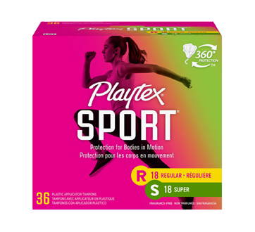 Image of product Playtex - Sport Plastic, 54 units