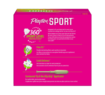 Image 2 of product Playtex - Sport Plastic, 36 units, Unscented Regular