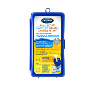 Image 1 of product Dr. Scholl's - Freeze Away Dual Action Common & Plantar Wart Remover, 1 unit