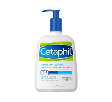 Image of product Cetaphil - Gentle Skin Cleanser, 1 L, Fragrance free