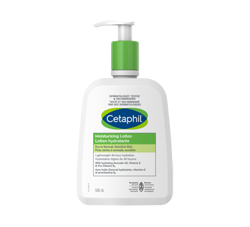 Image 1 of product Cetaphil - Moisturizing Lotion, 500 ml, Fragrance free