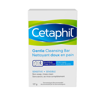 Image 1 of product Cetaphil - Gentle Cleansing Bar, 127 g, Fragrance free