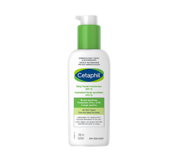 Image of product Cetaphil - Daily Facial Moisturizer SPF 15, 120 ml, Fragrance free