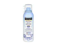 Image of product Neutrogena - Ultra Sheer Body Mist Sunscreen SPF 45, 141 g