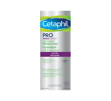 Image 2 of product Cetaphil - Pro DermaControl Oil Control Moisturizer SPF 30, 120 ml