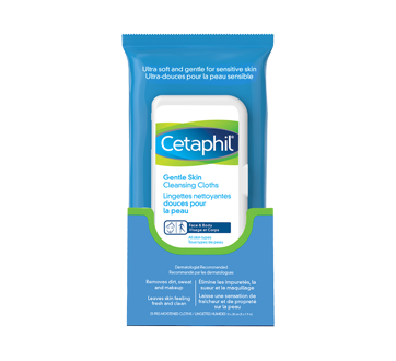 Image of product Cetaphil - Gentle Skin Cleansing Cloths, 25 units