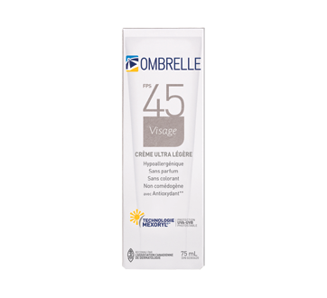 Image of product Ombrelle - Face Cream, 75 ml, SPF 45