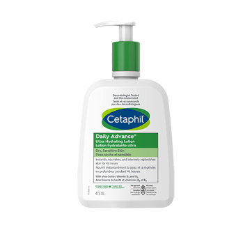 Image of product Cetaphil - DailyAdvance Ultra Hydrating Lotion with Shea Butter, 473 ml