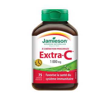 Image of product Jamieson - Exxtra-C Vitamin C 1,000 mg Timed Released, 75 units