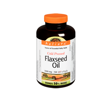 Image of product Holista - Cold Pressed Flaxseed Oil, 100 units