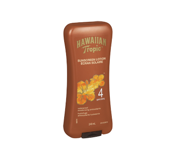 Image 2 of product Hawaiian Tropic - Sunscreen Lotion, SPF 4, 240 ml