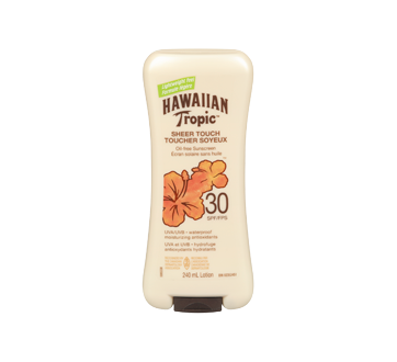 Image 3 of product Hawaiian Tropic - Sheer Touch Ultra Radiance Sunscreen Lotion, SPF 30, 240 ml