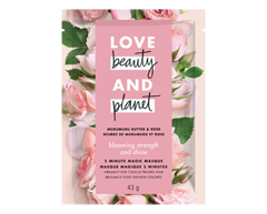 Image of product Love Beauty and Planet - Blooming Strength & Shine Hair Mask, 44 ml, Murumuru Butter & Rose