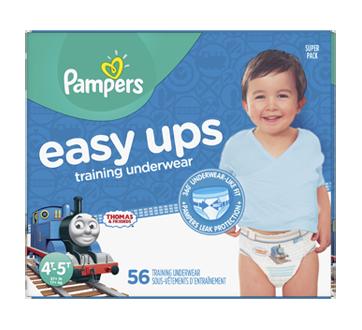 Easy Ups Training Underwear, 56 units, Size 6, 4T-5T