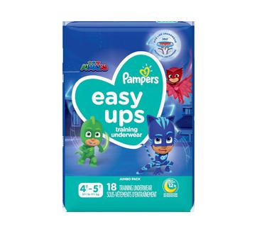 Easy Ups Training Underwear Boys Size 6 4T-5T, 18 units