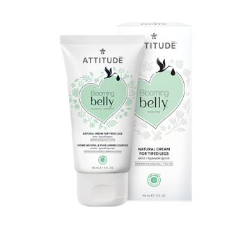 Blooming Belly Natural Cream for Tired Legs, 150 ml, mint