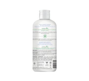 Image 2 of product Attitude - Baby Leaves Natural Bubble Wash, 473 ml,  Almond Milk