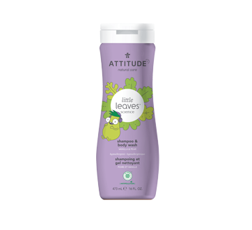 Image of product Attitude - 2-in-1 Shampoo and Body Wash, 473 ml, Vanilla & Pear