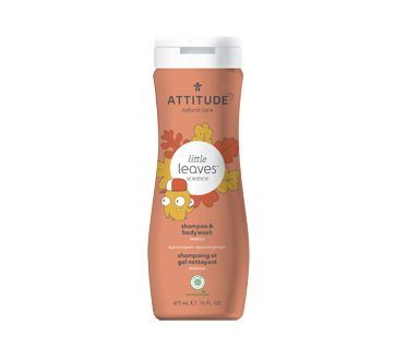 Image of product Attitude - 2-in-1 Shampoo and Body Wash, 473 ml, Mango
