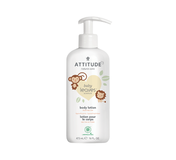 Baby Leaves Natural Body Lotion, 473 ml, Pear Nectar
