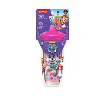 Paw Patrol Insulated Spill-Proof Spout Cup, Pink, 1 unit