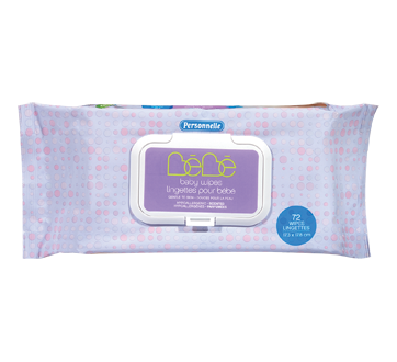 Baby Wipes Scented, 72 units