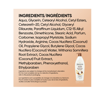 Image 7 of product Jergens - Hydrating Coconut Moisturizer, 620 ml