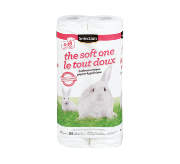 The soft one Bathroom Tissue, 8 units