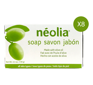 Olive Oil Soap, 8 units