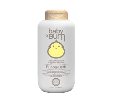 Bubble Bath, Natural Fragrance, 355 ml