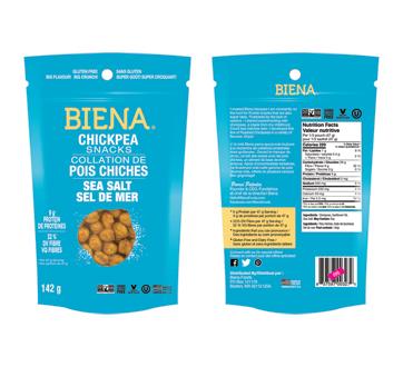 Chickpea Snacks, 142 g, Sea Salt