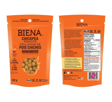Chickpea Snacks, 142 g, Habanero