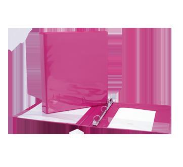 Binder 1 Inch, 1 unit, Pink
