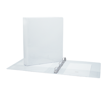 Binder 1 Inch, 1 unit, White