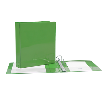 Binder 1.5 Inches, 1 unit, Green