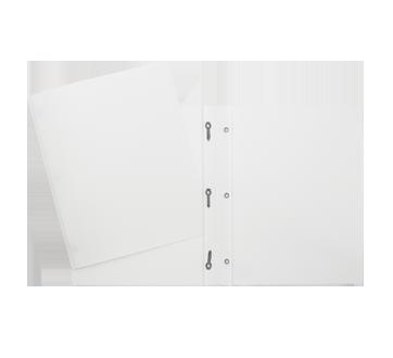 Plastic Portfolio, 1 unit, White