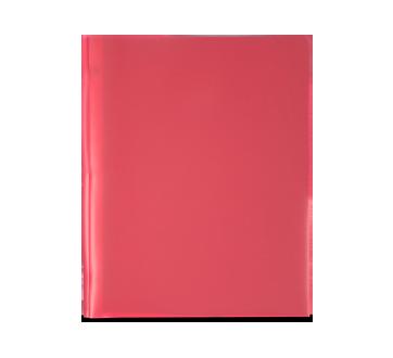 Plastic Portfolio, 1 unit, Red