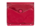 Thumbnail of product Geo - Plastic Envelope Transparent 3 Holes, 1 unit, Red