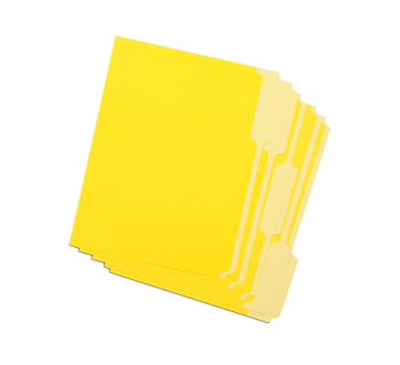 Image of product Firstline - File Folders, 1 unit, Yellow