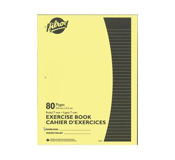 Stitched Exercise Books, 1 unit, Yellow