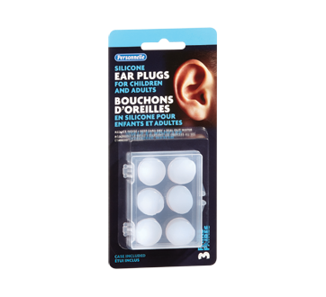 Image of product Personnelle - Silicone Ear Plugs for Children and Adults, 3 units