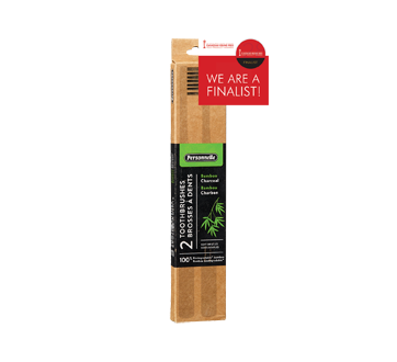 Bamboo Toothbrushes, 2 units, Soft