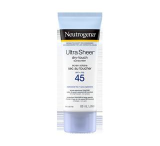 Ultra Sheer Dry-Touch Sunscreen SPF 45, 88 ml