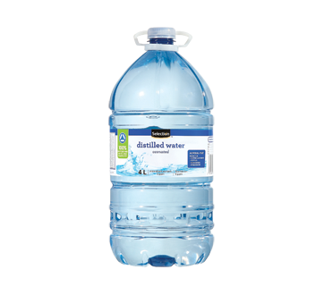 Image of product Selection - Distilled Water, 4 L