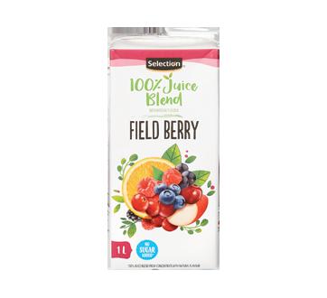 100% Juice Blend, 1 L, Field Berry