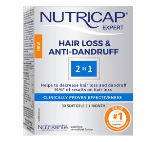 Nutricap Expert Hair Loss & Anti-Dandruff, 30 units